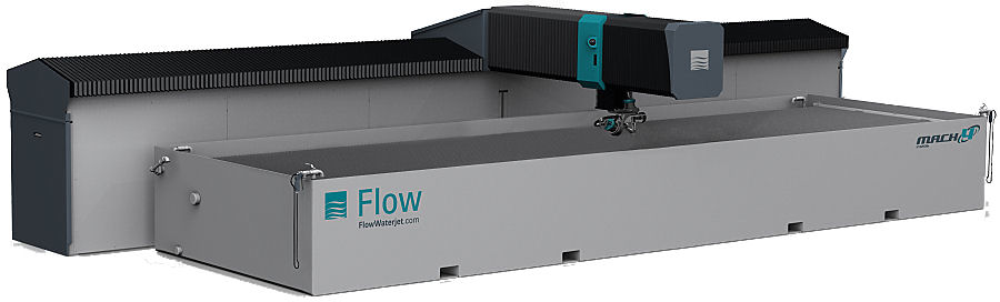 Flow Waterjet Cutter